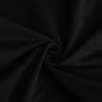 BLACK - FRENCH TERRY MC004 - 1