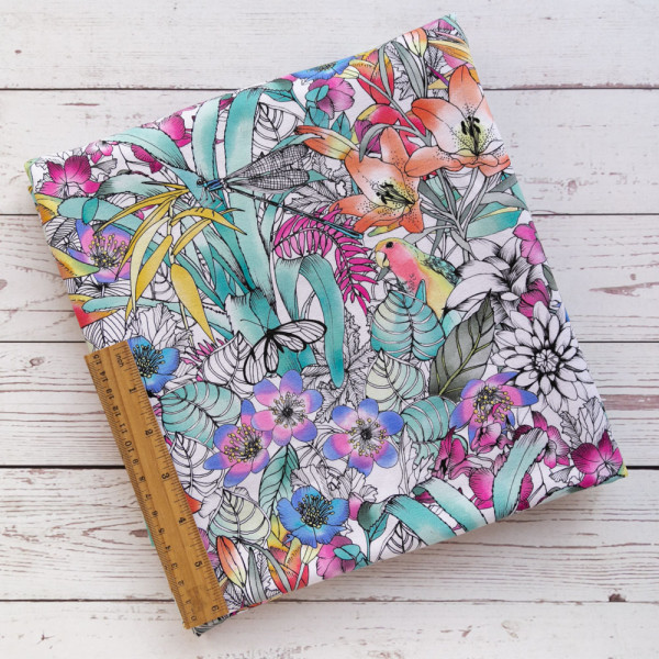 BOTANICA DIGITAL PRINT FABRIC DESIGNED BY THE SCENIC ROUTE