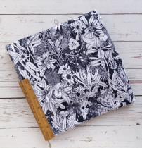 MONOCHROME NATIVE DIGITAL PRINT FABRIC DESIGNED BY THE SCENIC ROUTE