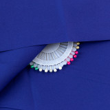 73# Royal Blue-100% Cotton Woven Fabric