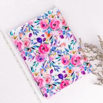 flower -1 yard Cotton woven- digital printed
