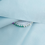 55# Baby Blue-100% Cotton Woven Fabric