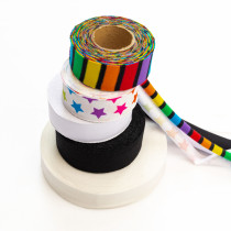 sold by 1 yard - Bias Binding - Cotton spandex ribbon for sewing