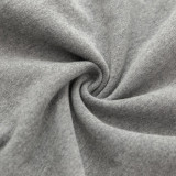 GREY Thick hoodie fleece - 61