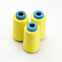 Sewing Thread - 538# neon yellow - matching fabaric