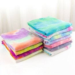 180G Cotton Lycra Tie-Dye Fabric