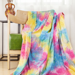 220G Cotton Lycra Tie-Dye Fabric
