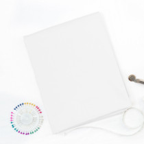 45# White-100% Cotton Woven Fabric-1 yard