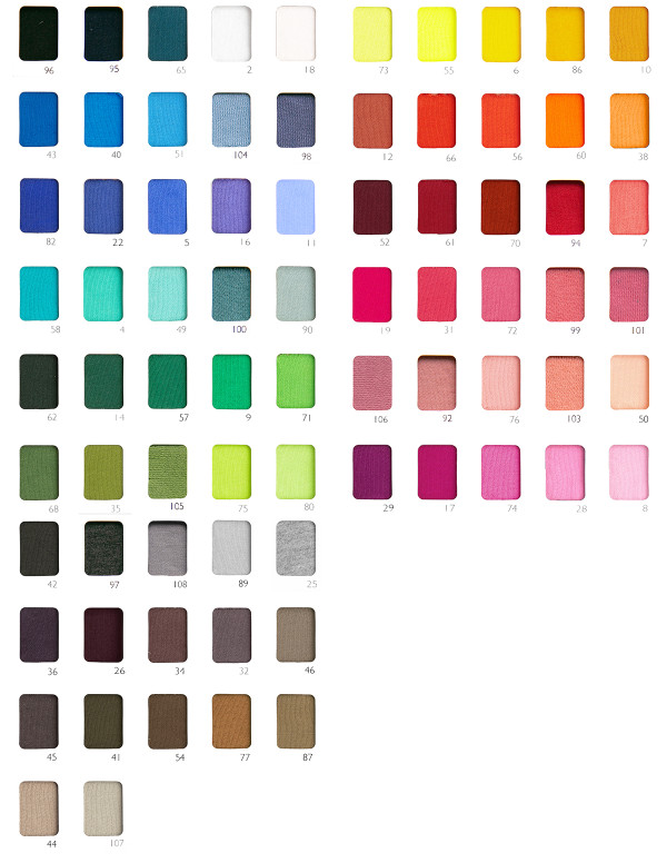 WHOLESALE FRENCH TERRY SWATCH BOOK