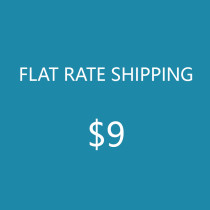 Flat rate shipping for no fabrics order