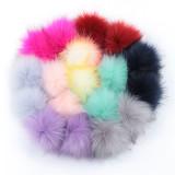 Colorful poms