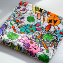 *READY TO SHIP* - Small Bunnies- CL 230-240gsm and Woven Fabrics