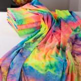 260G Yoga Tie-Dye Poly Fabric