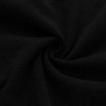 BLACK Thick hoodie fleece - 105
