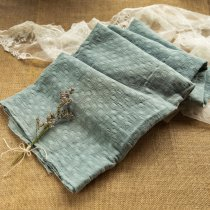 Dusty Aqua - Jacquard - 1/2 yard