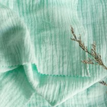 Mint gree - Double gauze/Muslin -1/2 Yard