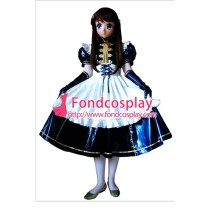 Lockable Pvc Maid Dress Maid Vinyl Uniform Tailor-Made[G1631]