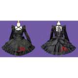 French Sissy Maid Gothic Lolita Punk Fashion Dress Cosplay Costume Tailor-Made[CK539]