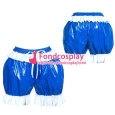 French PVC sissy maid bloomers/knickers/ unisex Tailor-made[G3896]