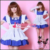 French Lockable Satin Sissy Maid Dress Uniform Tailor-Made[G1614]