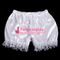 French Sissy Maid Satin Bloomers Cosplay Costume Tailor-Made[G2058]