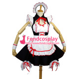 French Lovely Sexy Sissy Maid Cotton Dress Cosplay Costume Custom-Made[G726]