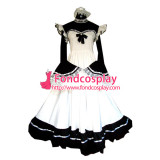French Sissy Maid Cotton Dress Uniform Cosplay Costume Tailor-Made[G186]