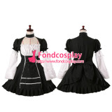 French Sissy Maid Gothic Lolita Punk Dress Cosplay Costume Tailor-Made[G071]