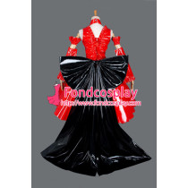 French Sissy Maid Gothic Lolita Punk Fashion Dress Cosplay Costume Tailor-Made[G854]