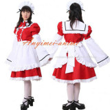French Sexy Sissy Maid Cotton Dress Uniform Cosplay Costume Tailor-Made[CK1044]