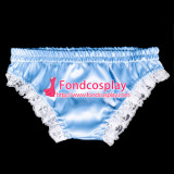 French Sissy Maid Satin Panties Cosplay Costume Tailor-Made[G2061]