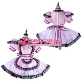 French Lockable Sissy Maid Organza Dress See-Through Outfit Tailor-Made[G2015]