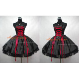 French Sissy Maid Gothic Lolita Punk Ball Gown Dress Cosplay Costume Tailor-Made[G398]