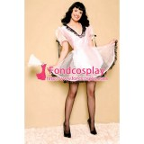 French Lockable Sissy Maid Organza-Satin Dress Uniform Cosplay Costume Tailor-Made[G1557]