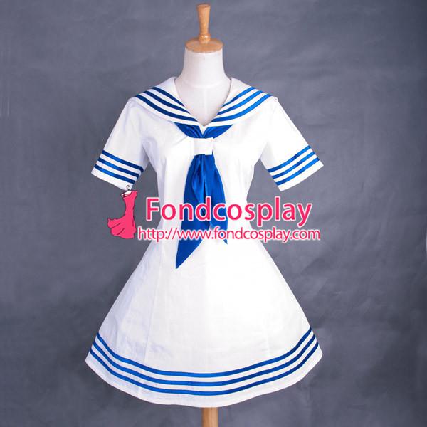 French Haiyore Nyarukosan Nyaruani Sissy Maid Dress Uniform Dress Cosplay Costume Custom-Made[G763]