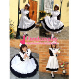 French Sexy Sissy Maid Dress Cotton Uniform Cosplay Costume Tailor-Made[CK355]
