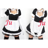 French Sexy Sissy Maid Cotton Dress Uniform Cosplay Costume Tailor-Made[CK868]