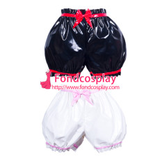 French Sissy Maid Pvc Panties Uniform Cosplay Costume Tailor-Made[G3783]