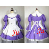 French Sexy Sissy Maid Cotton Lockable Dress Uniform Cosplay Costume Tailor-Made[CK678]