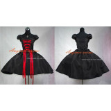 French Sissy Maid Gothic Lolita Punk Ball Gown Dress Cosplay Costume Tailor-Made[G386]