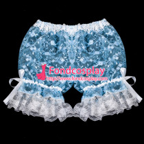 French Sissy Maid Satin Bloomers Cosplay Costume Tailor-Made[G2056]