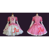 French Sissy Maid Gothic Lolita Punk Fashion Dress Uniform Cosplay Costume Tailor-Made[CK680]