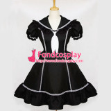 French Sissy Maid Gothic Lolita Dress Shool Girl Uniform Cosplay Costume Tailor-Made[G079]