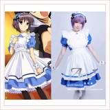 French The Melancholy Of Haruhi Suzumiya Sissy Maid Dress Cosplay Costume Tailor-Made[G706]