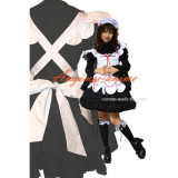 French Sexy Sissy Maid Cotton Dress Uniform Cosplay Costume Tailor-Made[CK1028]