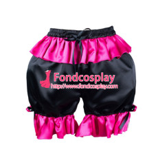 French Sissy Maid Satin Panties Cosplay Tailor-Made[G2171]