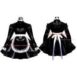 French Sexy Sissy Maid Black Dress Cosplay Costume Custom-Made[G551]