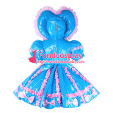 French Adult Sissy Baby Maid Pvc Dress Lockable Tailor-Made[G2285]