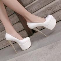 French Pleaser Seduce Crossdresser Sissy Maid High-heels 16CM