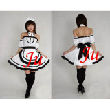 French Sexy Sissy Maid Cotton Dress Uniform Cosplay Costume Tailor-Made[CK767]